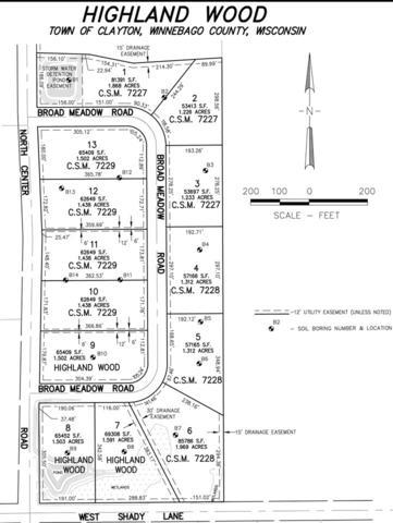 Broad Meadows Road, Neenah, WI 54956 (#50208494) :: Todd Wiese Homeselling System, Inc.
