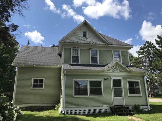 107 N Metonga Avenue, Crandon, WI 54520 (#50212935) :: Todd Wiese Homeselling System, Inc.