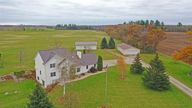E4242 Stecks Road, Weyauwega, WI 54983 (#50213439) :: Todd Wiese Homeselling System, Inc.