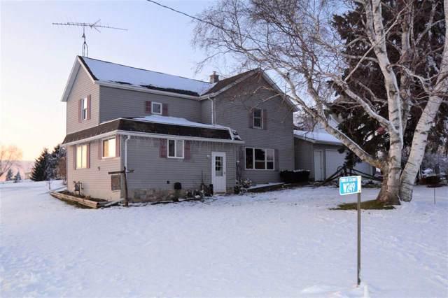 W249 Kiel Road, New Holstein, WI 53061 (#50214748) :: Todd Wiese Homeselling System, Inc.