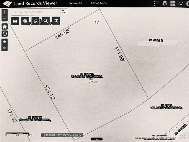 610 Oak Street, Scandinavia, WI 54977 (#50214819) :: Todd Wiese Homeselling System, Inc.