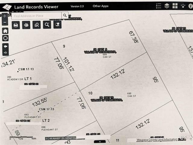 695 Oak Street, Scandinavia, WI 54977 (#50214824) :: Todd Wiese Homeselling System, Inc.