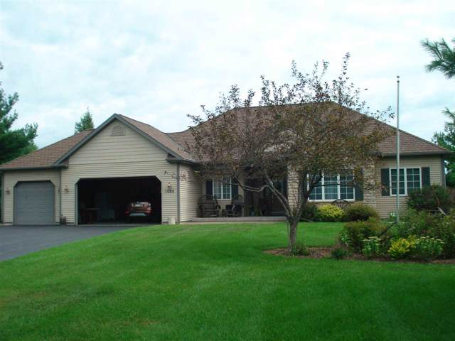 1088 E Taplin Drive, Wautoma, WI 54982 (#50214913) :: Todd Wiese Homeselling System, Inc.