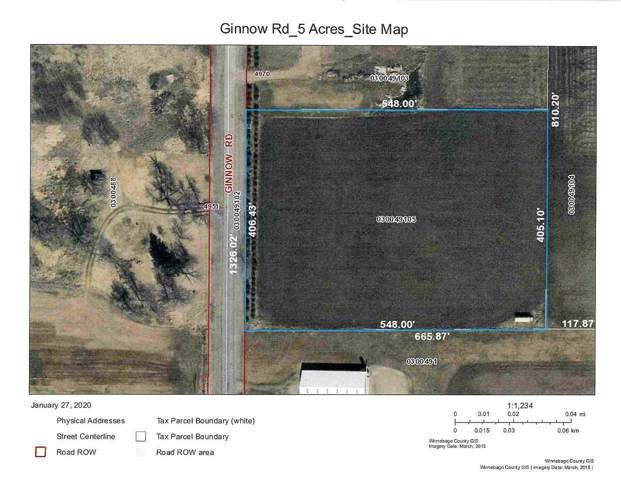 Ginnow Road, Omro, WI 54963 (#50216688) :: Todd Wiese Homeselling System, Inc.