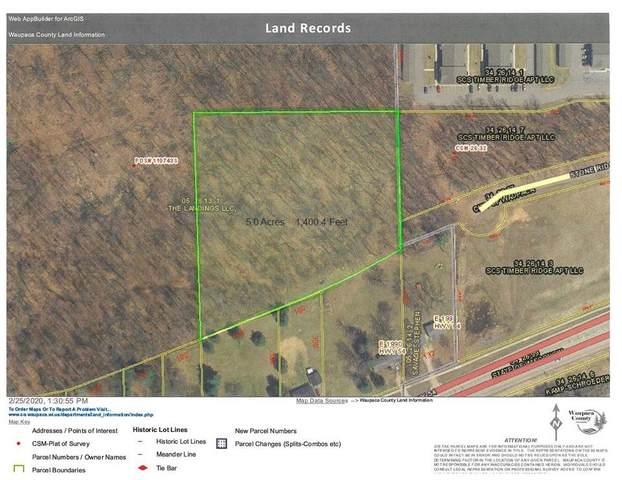 Stone Ridge Road, Waupaca, WI 54981 (#50217932) :: Todd Wiese Homeselling System, Inc.