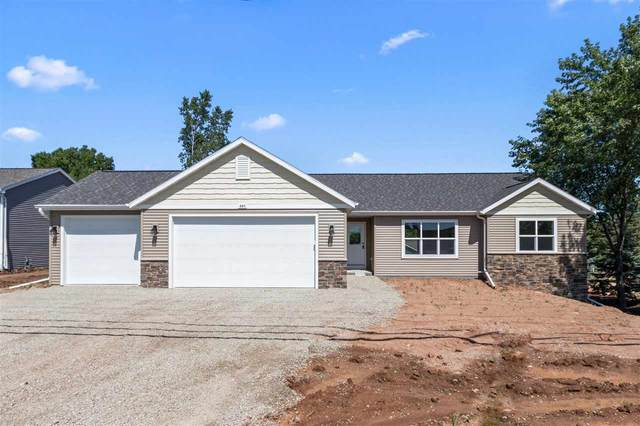 309 Greenbrier Drive, Hortonville, WI 54944 (#50218089) :: Dallaire Realty