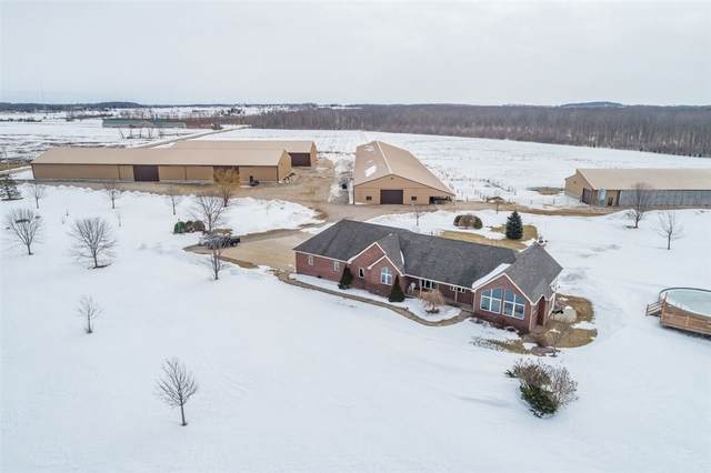2054 Mill Road, Greenleaf, WI 54126 (#50218166) :: Todd Wiese Homeselling System, Inc.