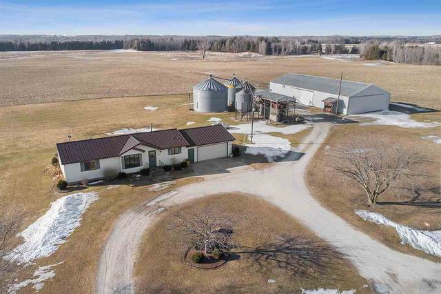 E3223 Townline Road, Kewaunee, WI 54216 (#50218782) :: Symes Realty, LLC