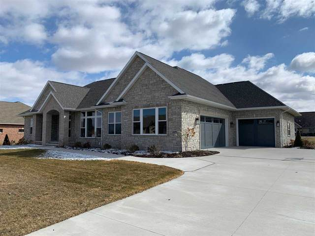 1529 Wild Rose Drive, De Pere, WI 54115 (#50219413) :: Todd Wiese Homeselling System, Inc.
