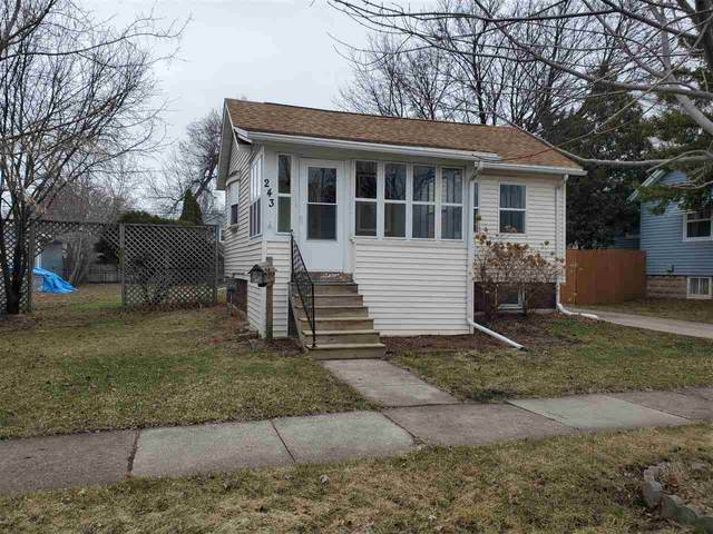 243 E 10TH Street, Fond Du Lac, WI 54935 (#50219725) :: Todd Wiese Homeselling System, Inc.