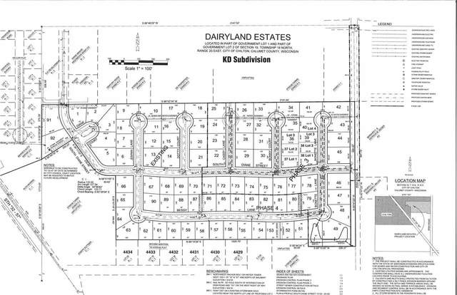 Bonnette Lane, Chilton, WI 53014 (#50219826) :: Todd Wiese Homeselling System, Inc.