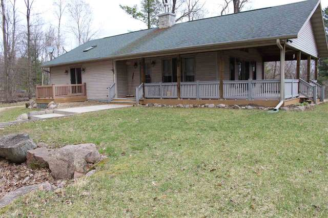 N9028 Moon Lake Retreat Road, Iola, WI 54945 (#50222082) :: Dallaire Realty