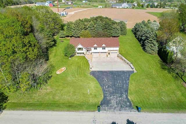 N5622 Maple View Lane, Hilbert, WI 54129 (#50222372) :: Todd Wiese Homeselling System, Inc.