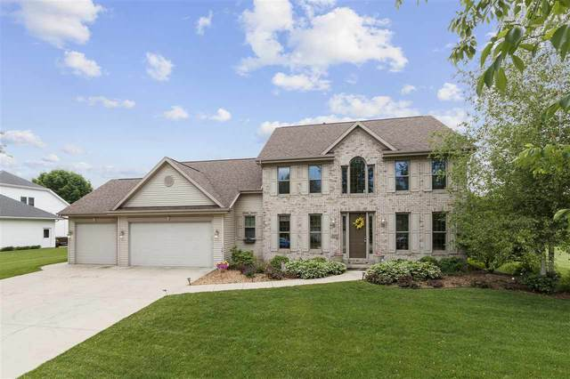 225 E Apple Creek Road, Appleton, WI 54913 (#50223726) :: Todd Wiese Homeselling System, Inc.