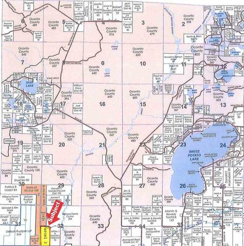 Hwy 64, Pound, WI 54161 (#50224811) :: Ben Bartolazzi Real Estate Inc