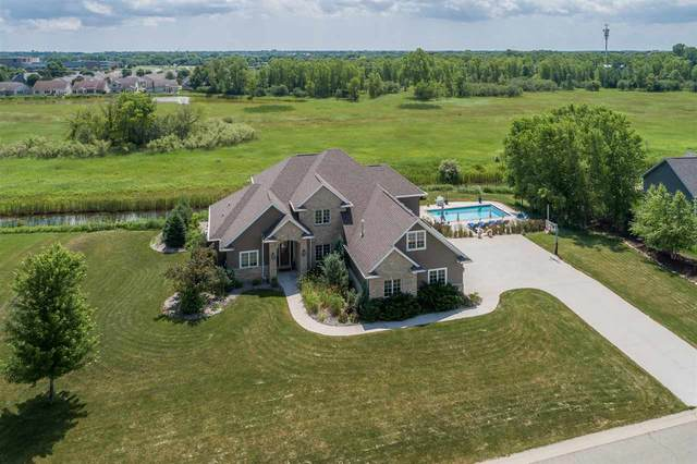 3493 W Warner Estates Drive, Appleton, WI 54913 (#50225133) :: Dallaire Realty