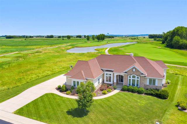 581 Royal St Pats Drive, Wrightstown, WI 54180 (#50225155) :: Todd Wiese Homeselling System, Inc.