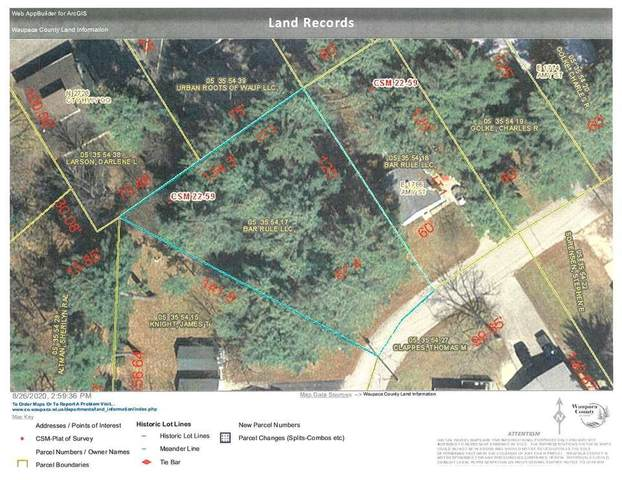 Amy Street, Waupaca, WI 54981 (#50228214) :: Ben Bartolazzi Real Estate Inc