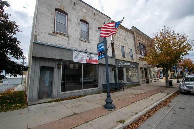 222 Steele Street, Algoma, WI 54201 (#50231112) :: Carolyn Stark Real Estate Team