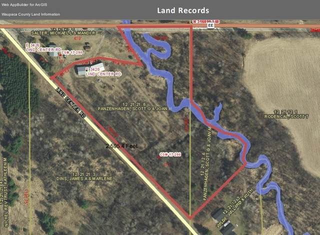 E3428 Lind Center Road, Waupaca, WI 54981 (#50232220) :: Dallaire Realty