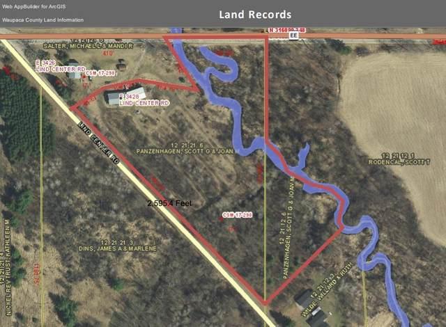 E3428 Lind Center Road, Waupaca, WI 54981 (#50232220) :: Ben Bartolazzi Real Estate Inc