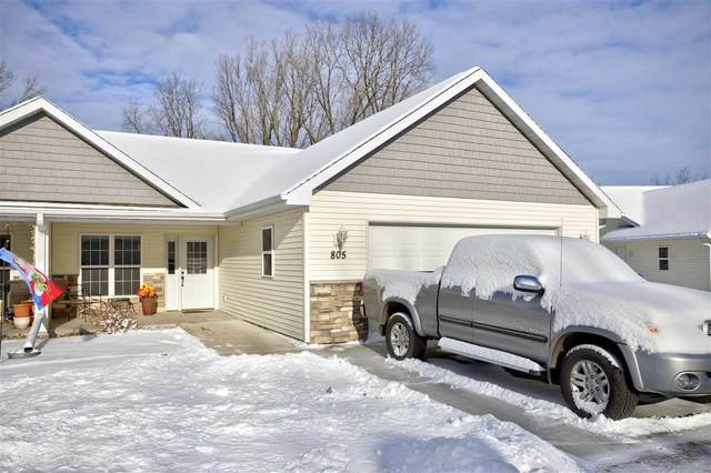 805 W Cook Street #6, New London, WI 54961 (#50233834) :: Todd Wiese Homeselling System, Inc.
