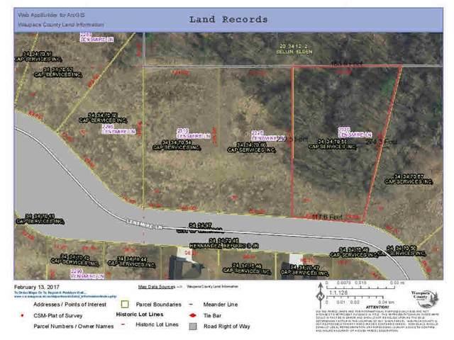 2335 Lensmire Lane, Waupaca, WI 54981 (#50234973) :: Carolyn Stark Real Estate Team