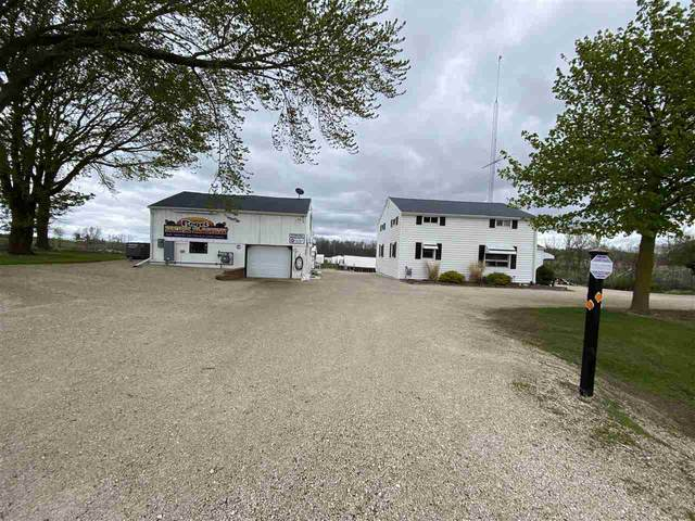 1095 W Hwy B Road, Campbellsport, WI 53010 (#50239820) :: Town & Country Real Estate