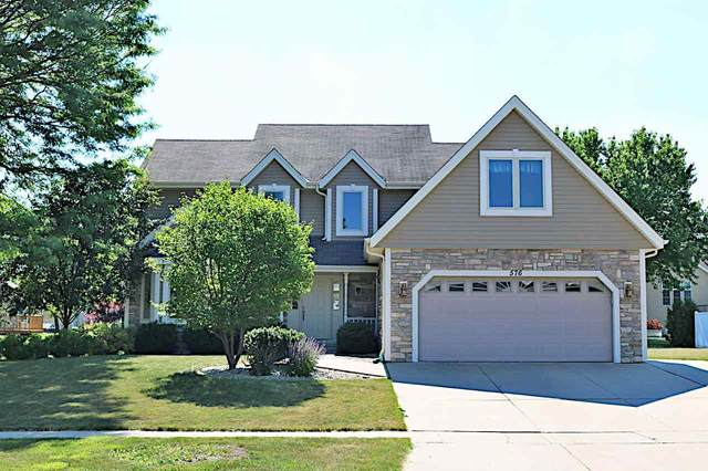 576 Fairway Circle, JEFFERSON, WI 53549 (#50242030) :: Todd Wiese Homeselling System, Inc.