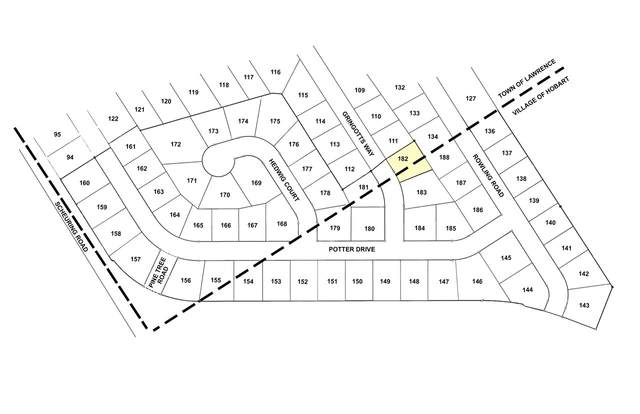 Gringotts Way, De Pere, WI 54115 (#50243023) :: Carolyn Stark Real Estate Team