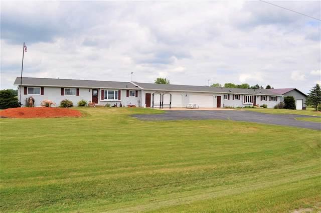8996 N Brown County Line Road, Pulaski, WI 54162 (#50243142) :: Symes Realty, LLC