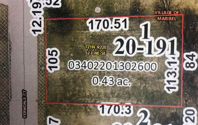 14625 Ferndale Court, Maribel, WI 54227 (#50244875) :: Symes Realty, LLC