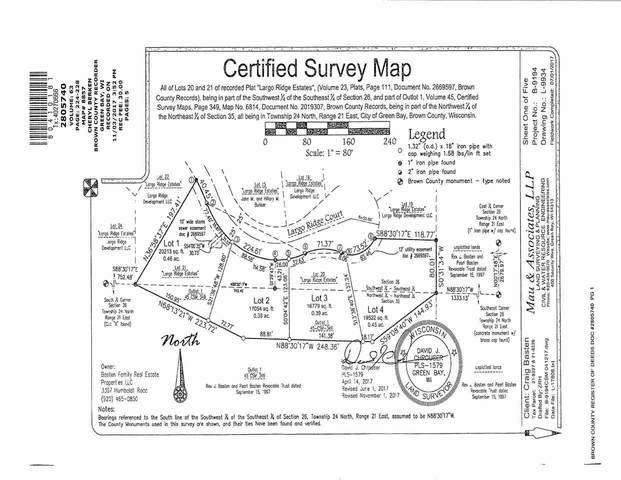 Largo Ridge Court, Green Bay, WI 54311 (#50247761) :: Symes Realty, LLC