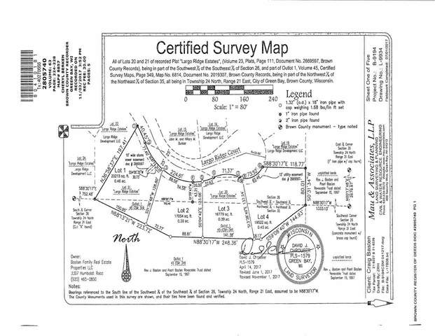 Largo Ridge Court, Green Bay, WI 54311 (#50247765) :: Symes Realty, LLC