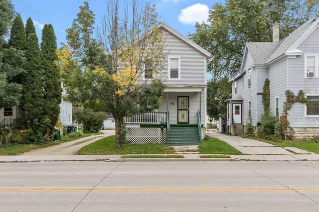 76 E Johnson Street, Fond Du Lac, WI 54395 (#50249680) :: Carolyn Stark Real Estate Team