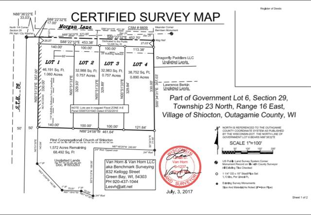 Morgan Avenue, Shiocton, WI 54170 (#50192863) :: Dallaire Realty