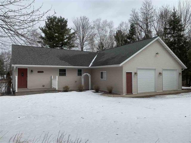 9426 Lee Lake Road, Pound, WI 54161 (#50200022) :: Todd Wiese Homeselling System, Inc.
