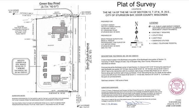 911 Green Bay Road, Sturgeon Bay, WI 54235 (#50209532) :: Symes Realty, LLC