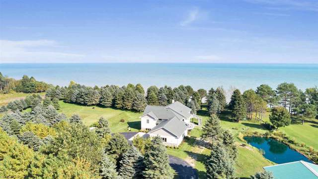N2788 Lakeshore Road, Kewaunee, WI 54216 (#50211886) :: Dallaire Realty
