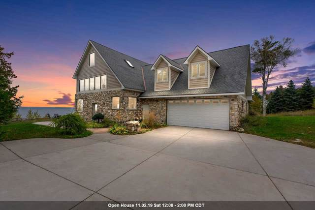 8507 Island View Road, Fish Creek, WI 54212 (#50212104) :: Dallaire Realty