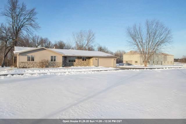 N4464 Elm Road, Krakow, WI 54137 (#50216318) :: Todd Wiese Homeselling System, Inc.