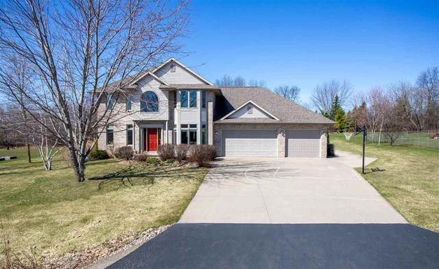 1741 Cottontail Drive, Oshkosh, WI 54904 (#50219532) :: Todd Wiese Homeselling System, Inc.