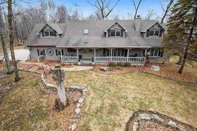 4000 Snake Island Road, Sturgeon Bay, WI 54235 (#50219685) :: Todd Wiese Homeselling System, Inc.