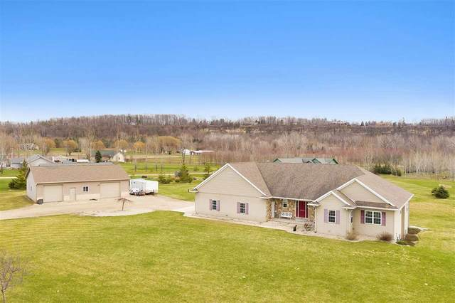 1990 School Road, Greenleaf, WI 54126 (#50220489) :: Todd Wiese Homeselling System, Inc.