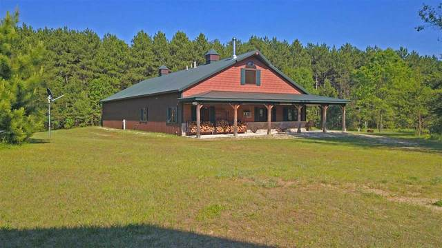 N3602 Blackhawk Road, Pine River, WI 54965 (#50223635) :: Todd Wiese Homeselling System, Inc.