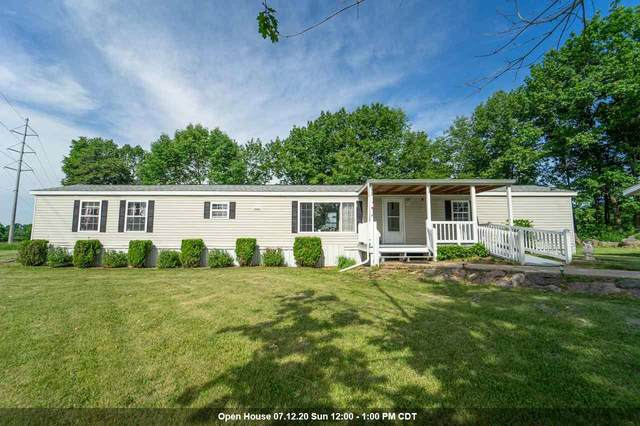 N4423 Larry Road, New London, WI 54961 (#50224775) :: Todd Wiese Homeselling System, Inc.