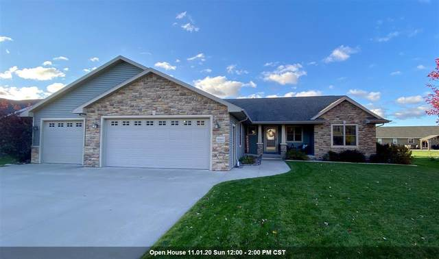 W4841 Guernsey Drive, Sherwood, WI 54169 (#50231398) :: Todd Wiese Homeselling System, Inc.