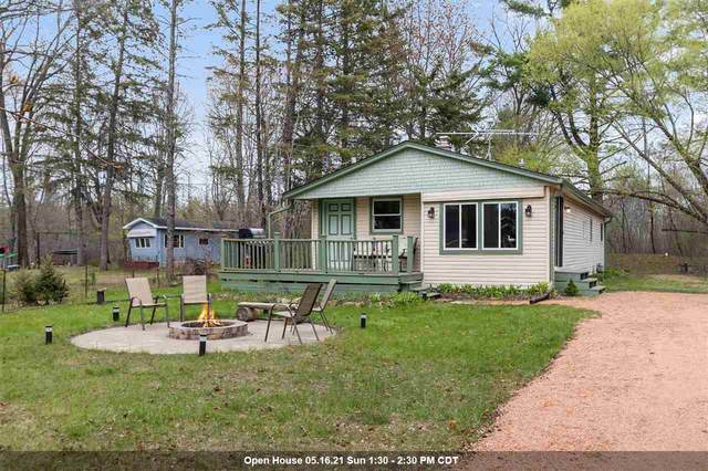 N5438 E Wilson Lake Road, Wild Rose, WI 54984 (#50239089) :: Dallaire Realty