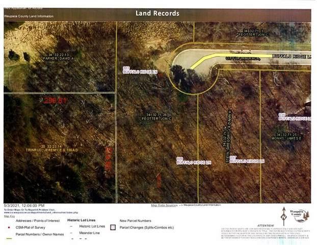 803 Buffalo Ridge Lane, Waupaca, WI 54981 (#50239465) :: Town & Country Real Estate
