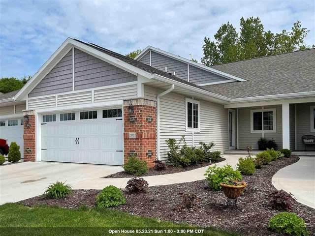 2592 Bay Harbor Circle #2, Green Bay, WI 54304 (#50240636) :: Todd Wiese Homeselling System, Inc.